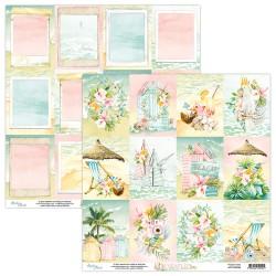 Scrapbooking Paper- 12x12 Sheet - PARADISE 06