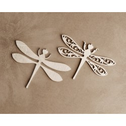 Chipboard - Layered Dragonfly