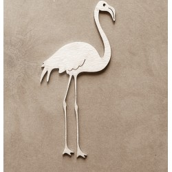 Chipboard - Flamingo