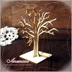 Chipboard - Tree with swing/ 3D
