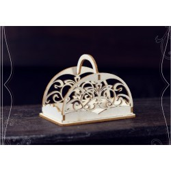 Chipboard - Decorative Basket/3D