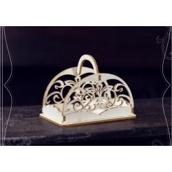 Chipboard - Decorative Basket/3D