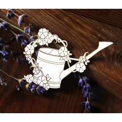 Chipboard - Flowering watering can