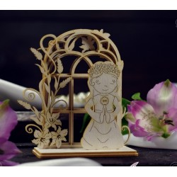 Chipboard 3D  - Communion Girl