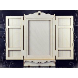 MDF - Photo frame window /3D