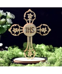 MDF - Cross on the stand /3D