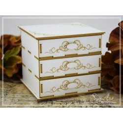 Chipboard 3D - Chest of drawers