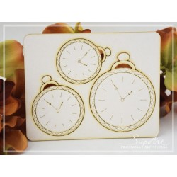Chipboard - Pocket watches