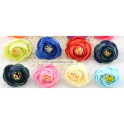 Silk Flower Bud / 5 pcs