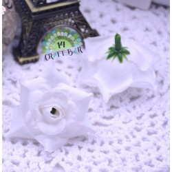 Silk Head Rose 4 cm /10 pcs