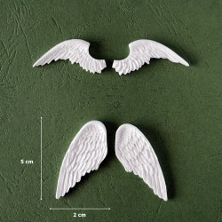Mold 09 - 2 pair of Angels Wings