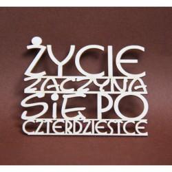 Chipboard - Polish text -po 40-tce