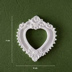Mold 14- Heart-shaped Frame