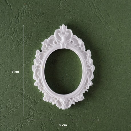 Mold 15- Big Oval Frame
