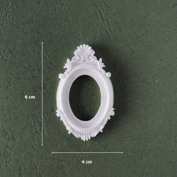 Mold 16-Small Oval Frame