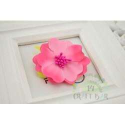 Silk Flower with stamens /PINK