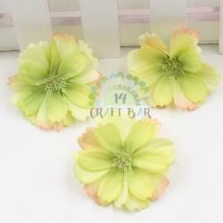 Silk Plum Flower/10 pcs