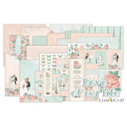 Scrapbooking Papers - Love of my life (12x12)
