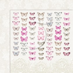 Scrapbooking Paper- 12x12 Sheet - Butterflies 05