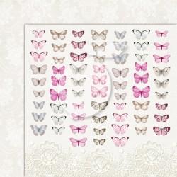 Scrapbooking Paper- 12x12 Sheet - Butterflies 05