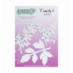 Lady E Design  Leaf 6 - Herbs