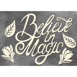Chipboard - Believe in Magic /large