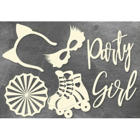 Chipboard - Party Girl
