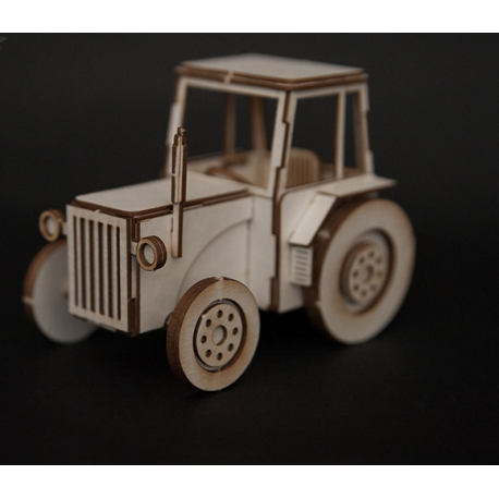 Chipboard 3D  - Tractor