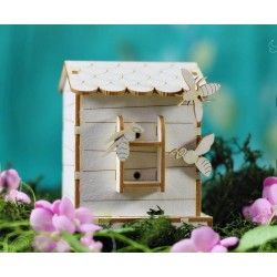 Chipboard 3D  - Beehive