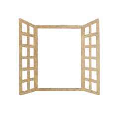 MDF -Kit for Shadow Boxes/Fencing and window