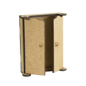 MDF -for Shadow Boxes/ Wardrobe 3D
