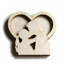 Chipboard - Shaker Cards / COUPLE IN LOVE