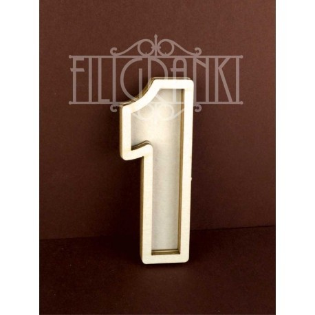 Chipboard - Shaker Cards /NUMBER 1