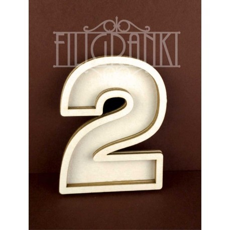 Chipboard - Shaker Cards /NUMBER 2