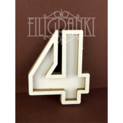Chipboard - Shaker Cards /NUMBER 4
