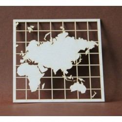 Chipboard - Maps /THE WORLD