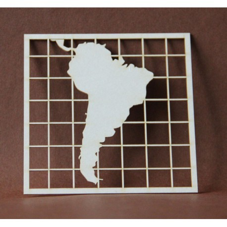 Chipboard - Maps /SOUTH AMERICA