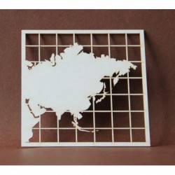 Chipboard - Maps /ASIA