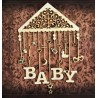 Chipboard -Baby carousel