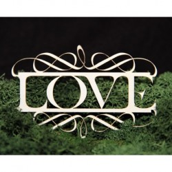 Chipboard- Love with decors