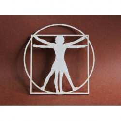 Chipboard- Vitruvian Man