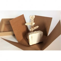 Chipboard - Small suitcaset 3D