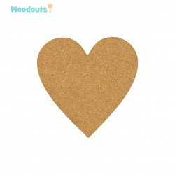 MDF -Large Shape - HEART 1