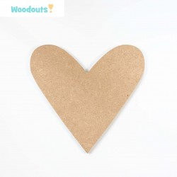 MDF -Large Shape - HEART 3