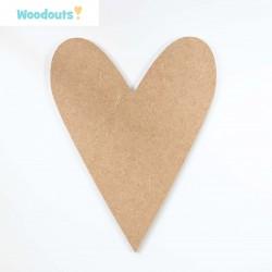 MDF -Large Shape - HEART 4