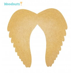 MDF -Large Shape - WINGS 1