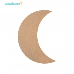 MDF -Large Shape - MOON