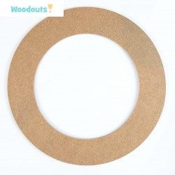MDF -Large Shape - WREATH 1