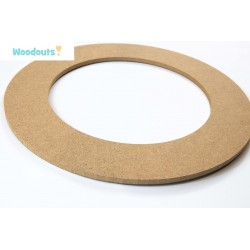 MDF -Large Shape - WREATH 2