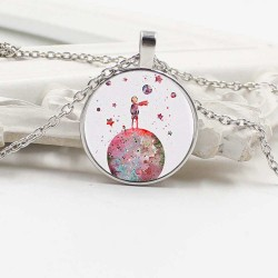 Necklace with cabochon - LITTLE PRINCE